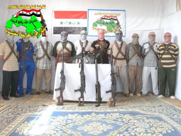 عاجل جيش رجال الطريقة النقشبندية قصف مقر للعدو الامريكي بصاروخ النصر بتاريخ 21-11-2012 052