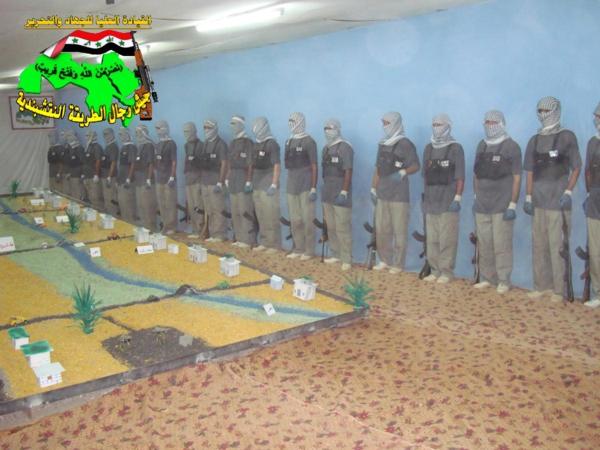 عاجل جيش رجال الطريقة النقشبندية قصف مقر للعدو الامريكي بتاريخ 16/9/2012 140