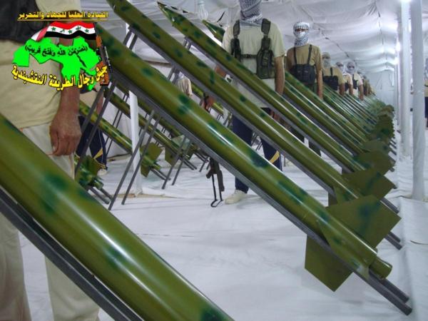 عاجل جيش رجال اطلريقة النقشبندية قصف مقر للعدو الامريكي بتاريخ 25/9/2012 170