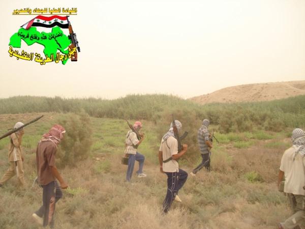 جيش النقشبندية : قصف مقر للعدو الامريكي بتاريخ 12/10/2012 207