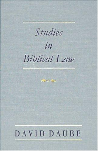 Download Studies in Biblical Law