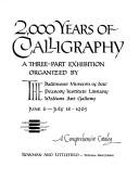 Download 2,000 years of calligraphy