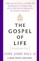Download The gospel of life =