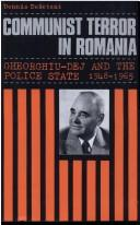 Download Communist terror in Romania