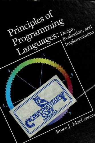 Download Principles of programming languages