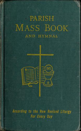 Parish mass book and hymnal