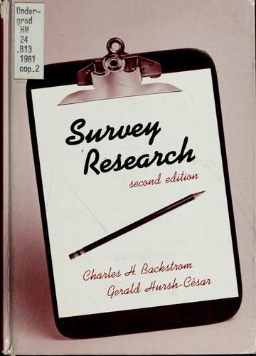 Download Survey research
