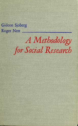 Download A methodology for social research