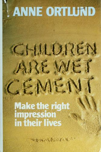 Children are wet cement