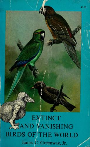 Download Extinct and vanishing birds of the world