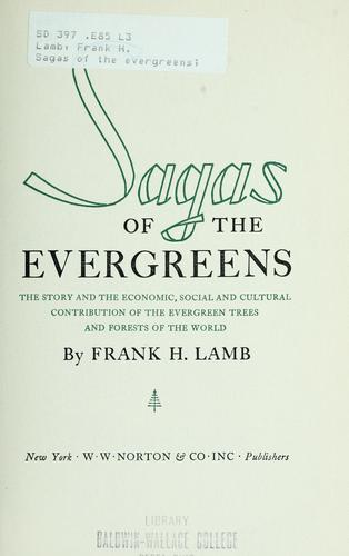 Download Sagas of the evergreens
