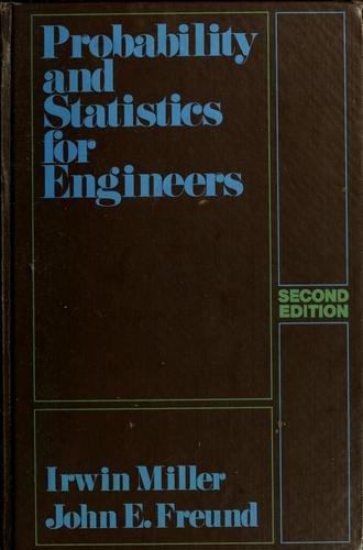 Download Probability and statistics for engineers