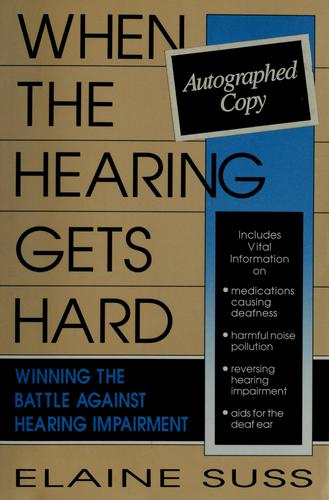 Download When the hearing gets hard