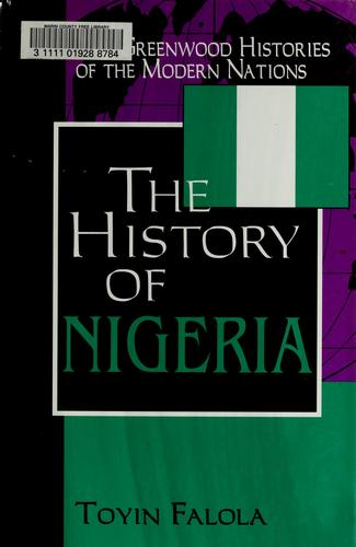 The history of Nigeria