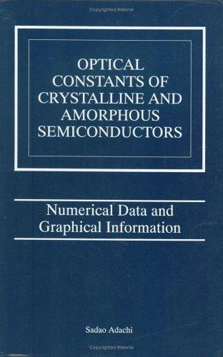 Download Optical Constants of Crystalline and Amorphous Semiconductors