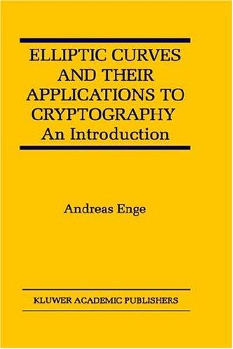Download Elliptic Curves and Their Applications to Cryptography