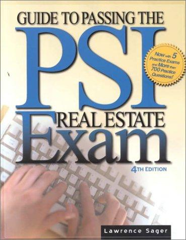 Download Guide to Passing the Psi Real Estate Exam