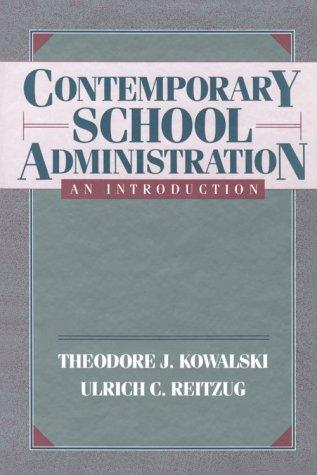 Download Contemporary school administration