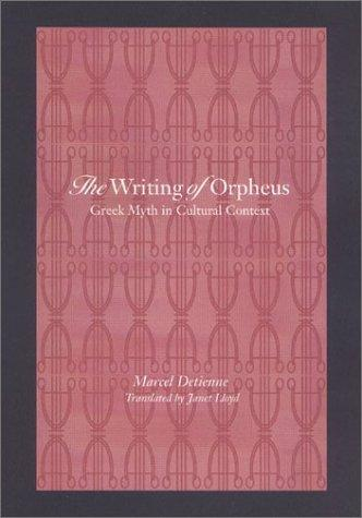 Download The Writing of Orpheus