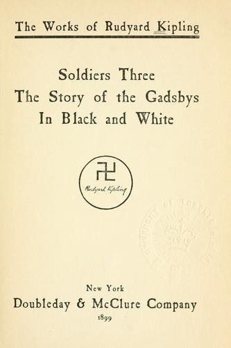 Soldiers three.