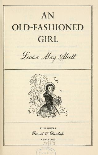 Download An old-fashioned girl