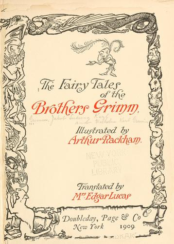Download The Fairy Tales of the Brothers Grimm