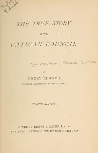 The true story of the Vatican Council.