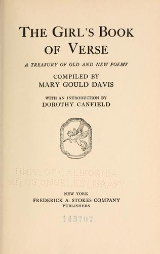 Download The girl's book of verse