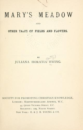 Download Mary's meadow and other tales of fields and flowers