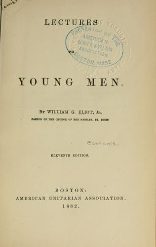 Lectures to young men.