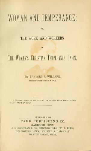 Download Woman and temperance