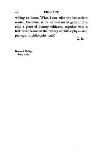 Download Three philosophical poets