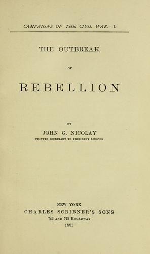 Download The outbreak of rebellion.