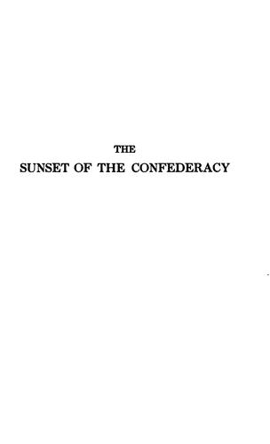 Download The sunset of the Confederacy