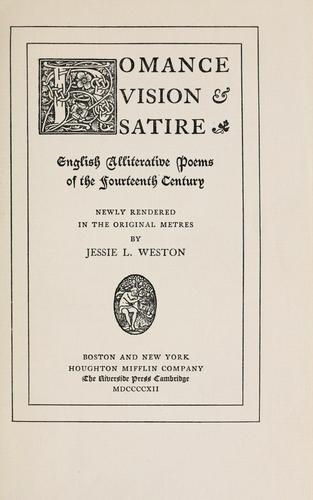 Romance, vision & satire