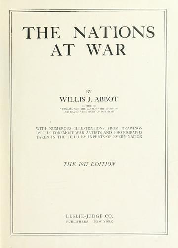 Download The nations at war