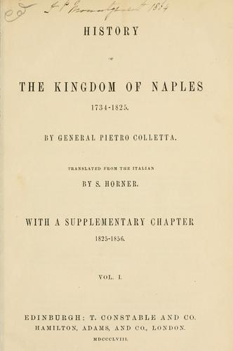 Download History of the kingdom of Naples