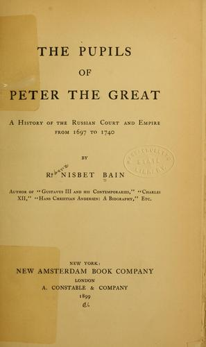 Download The pupils of Peter the Great