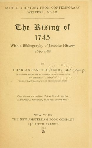 Download The rising of 1745