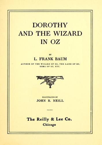Download Dorothy and the Wizard in Oz