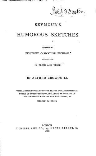 Seymour's humorous sketches