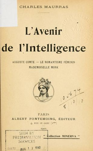 Download L' avenir de l'intelligence.