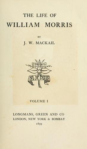 Download The life of William Morris