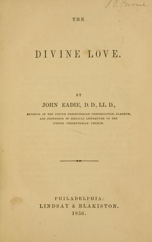 Download The divine love.
