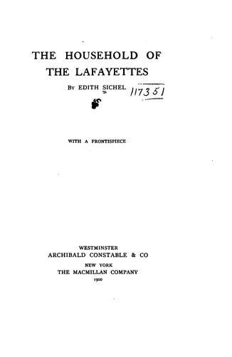 Download The household of the Lafayettes
