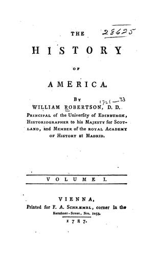 The History of America …