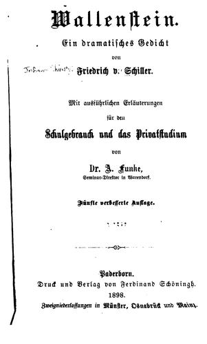 Download Wallenstein
