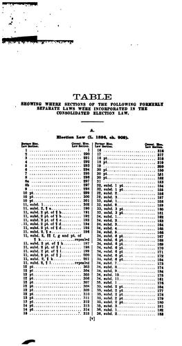 Jewett's Manual for Election Officers and Voters in the State of New York …