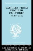 Samples from English cultures.