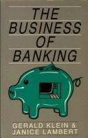 Download The business of banking